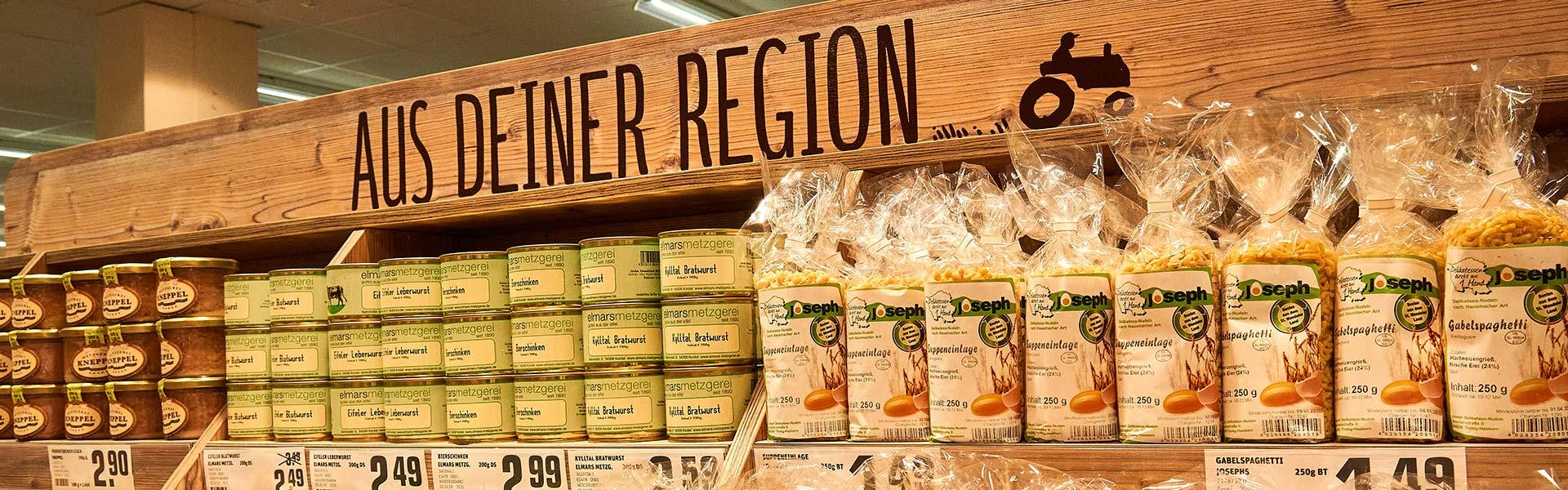 Regionale Produkte in Ihrem REWE-Markt in Trier